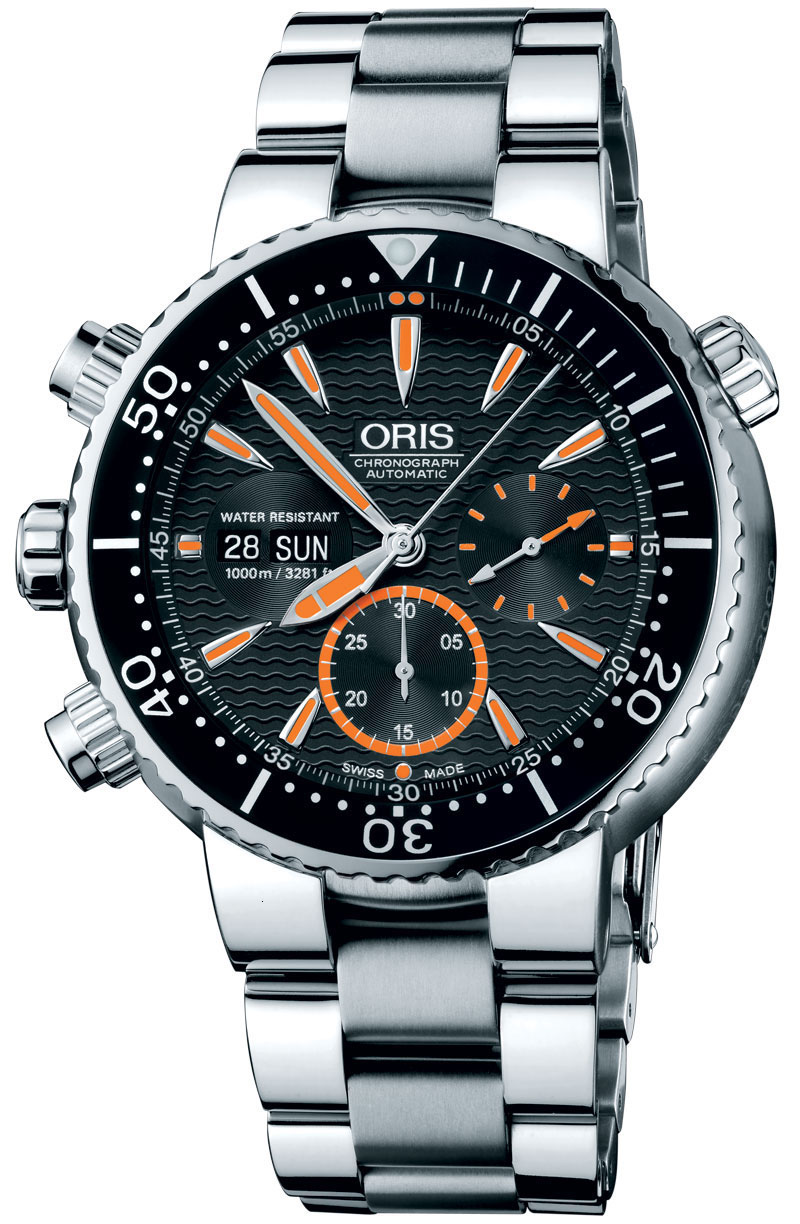 Carlos Coste Limited Edition watch by ORIS