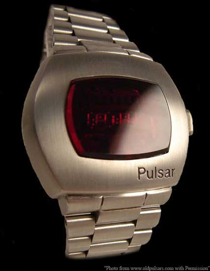 James Bond Hamilton Pulsar P2 2900 LED digital watch