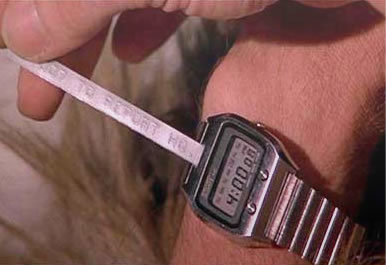 Seiko james bond ticker tape watch