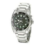 Seiko Kinetic men's stainless steel diver's watch