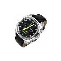 1970 - Diamond Bezel Black Chronograph Watch
