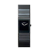 Rado Ceramica ladies' black bracelet watch