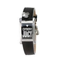 Juicy Couture Royal ladies' black strap watch