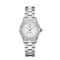 TAG Heuer ladies' diamond set bezel watch