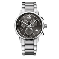 CK Calvin Klein men's stainless steel bracelet watch
