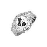 Porto Cervo White Dial Chronograph Watch
