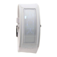 Black Dice White Guru Watch