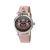 Juicy Couture ladies' pink strap watch