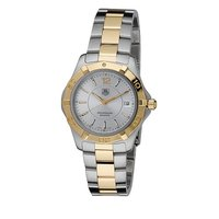 Tag Heuer Aquaracer men's two colour bracelet watch