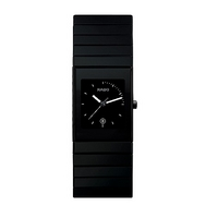 Rado Ceramica men's black bracelet watch