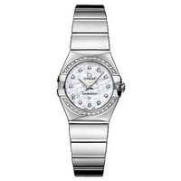 Omega Constellation ladies' mother of pearl dial watch