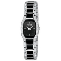 Citizen Eco-Drive ladies' stone set watch