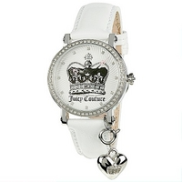Juicy Couture ladies' stone set strap watch