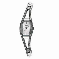 Guess Ladies' Stone-Set Bracelet Watch