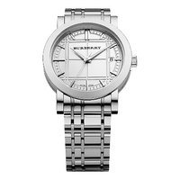 Burberry men's stainless steel bracelet watch