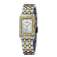 Raymond Weil Tango ladies' two colour bracelet watch