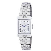 Dreyfuss & Co ladies' stainless steel bracelet watch
